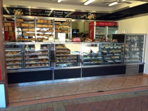 Bakery Counter Heated Display